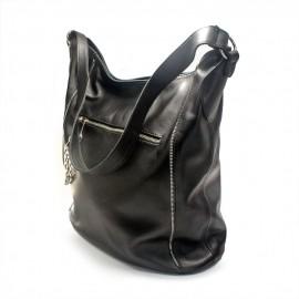 Geanta de dama casual de culoare neagra, Sasha