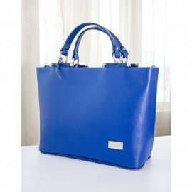 Geanta de dama albastra, eleganta, Lani