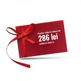 Voucher cadou in valoare de 286 de lei